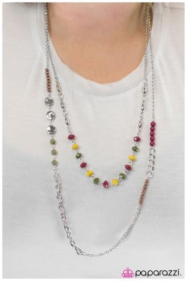 The Heat is On - mulit - Paparazzi necklace