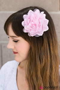 The Jazz Age - Pink - Paparazzi hair clip