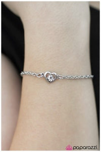 The Love of Your Life - White - Paparazzi bracelet