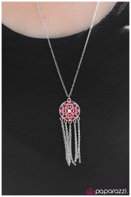 The North Star - pink - Paparazzi necklace
