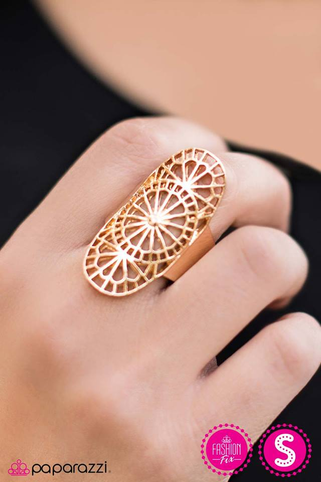 The WHEEL to Do Wonders - Paparazzi ring