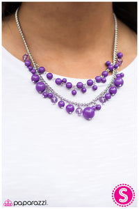 The Wedding Planner - Purple - Paparazzi necklace