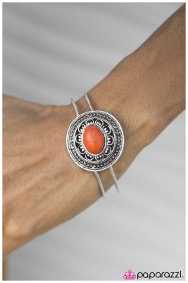 The Westerner - Orange - Paparazzi bracelet