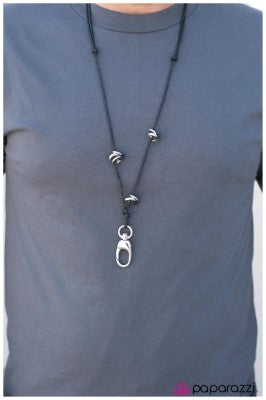 The Working Man - Paparazzi lanyard