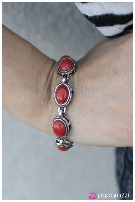 The cowgirl Way - red - Paparazzi bracelet