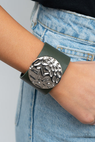 The Future Looks Bright - green - Paparazzi bracelet