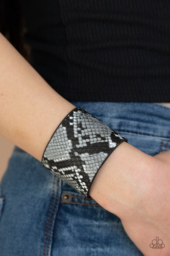 The Rest is HISS-tory-silver-Paparazzi bracelet