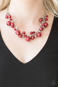 The Upstater - red - Paparazzi necklace