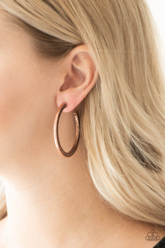 This Is My Tribe - copper - Paparazzi earrings