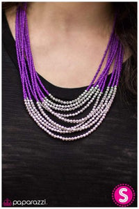 Time To Tango - Purple - Paparazzi necklace