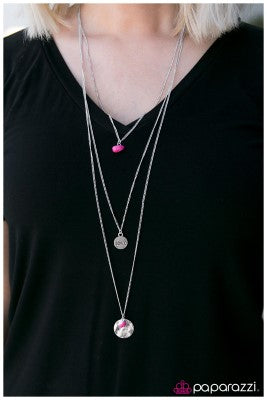 To Love and Be Loved - Pink - Paparazzi necklace
