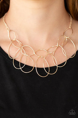 Top-TEAR Fashion-rose gold-Paparazzi necklace