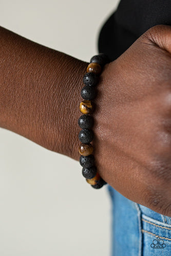 Top Ten Zen-brown-Paparazzi bracelet