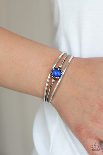 Top of the Pop Charts - blue - Paparazzi bracelet