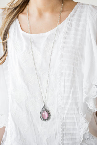 Total Tranquility-pink-Paparazzi necklace