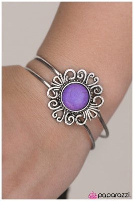 Totally Off the Hinges! - Purple - Paparazzi bracelet