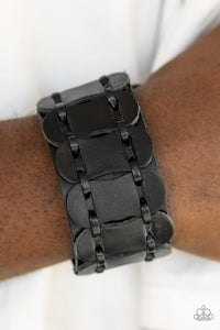 Traffic Control - black - Paparazzi bracelet
