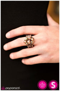 Treasure Island - Copper - Paparazzi ring