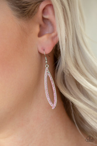 Treasure Trove Trinket-pink-Paparazzi earrings