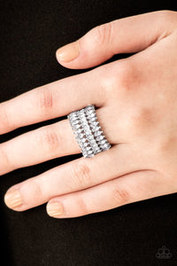 Treasury Fund - white - Paparazzi ring