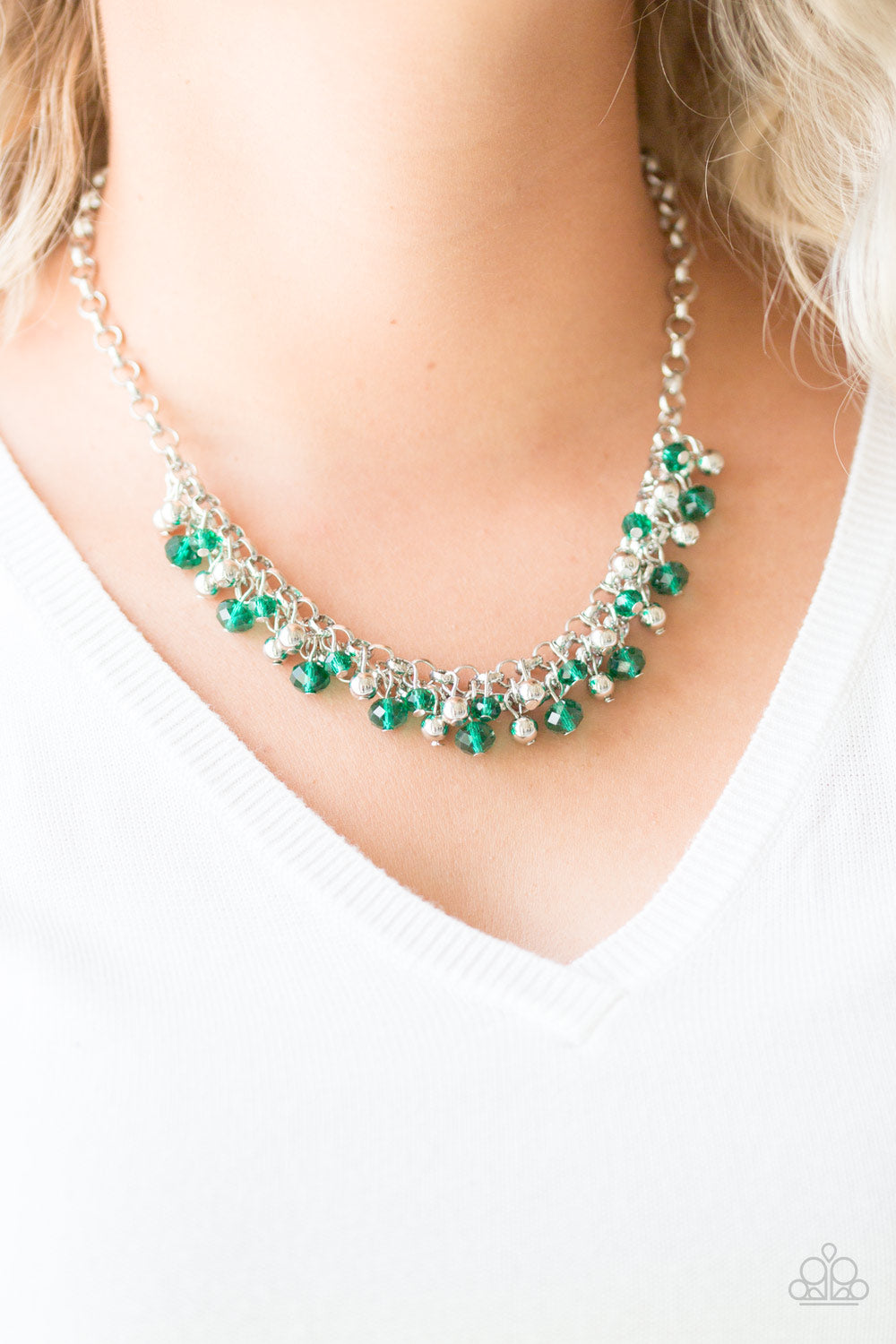 Trust Fund Baby - green - Paparazzi necklace