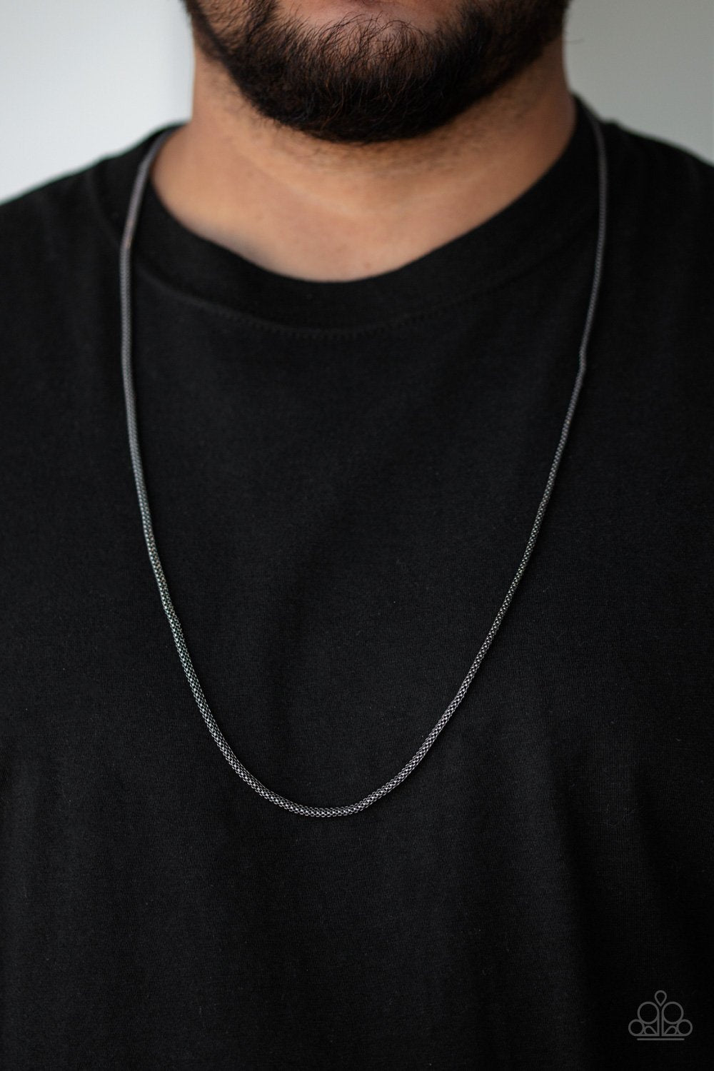 Underground - black - Paparazzi MENS necklace