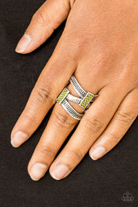 Urban Upscale - green - Paparazzi ring