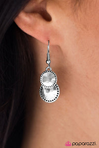 WHEEL-ing and Able - Paparazzi earrings