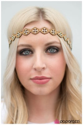 Walk Me Home - Brown -Paparazzi headband