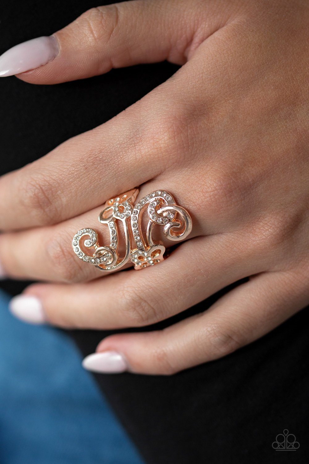 Waltzing Wonders-gold-Paparazzi ring