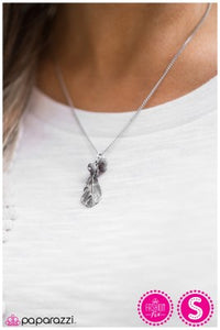 Watch me Soar - silver - Paparazzi necklace