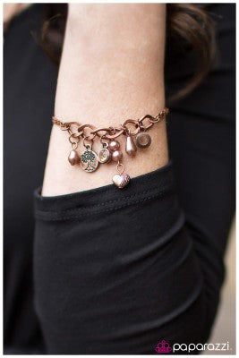 Welcome To Bliss - Copper - Paparazzi bracelet