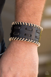 West RIDE Story - black - Paparazzi bracelet