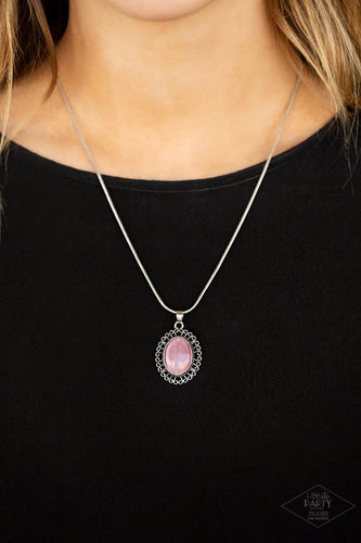 Western Plains-pink-Paparazzi necklace