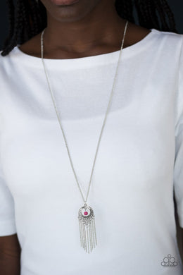 Western Weather-pink-Paparazzi necklace