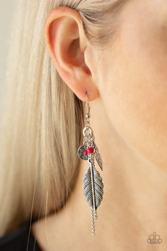 Western Whimsicality - pink - Paparazzi earrings