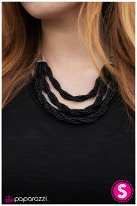 What a BEAD-iful World - Black - Paparazzi necklace