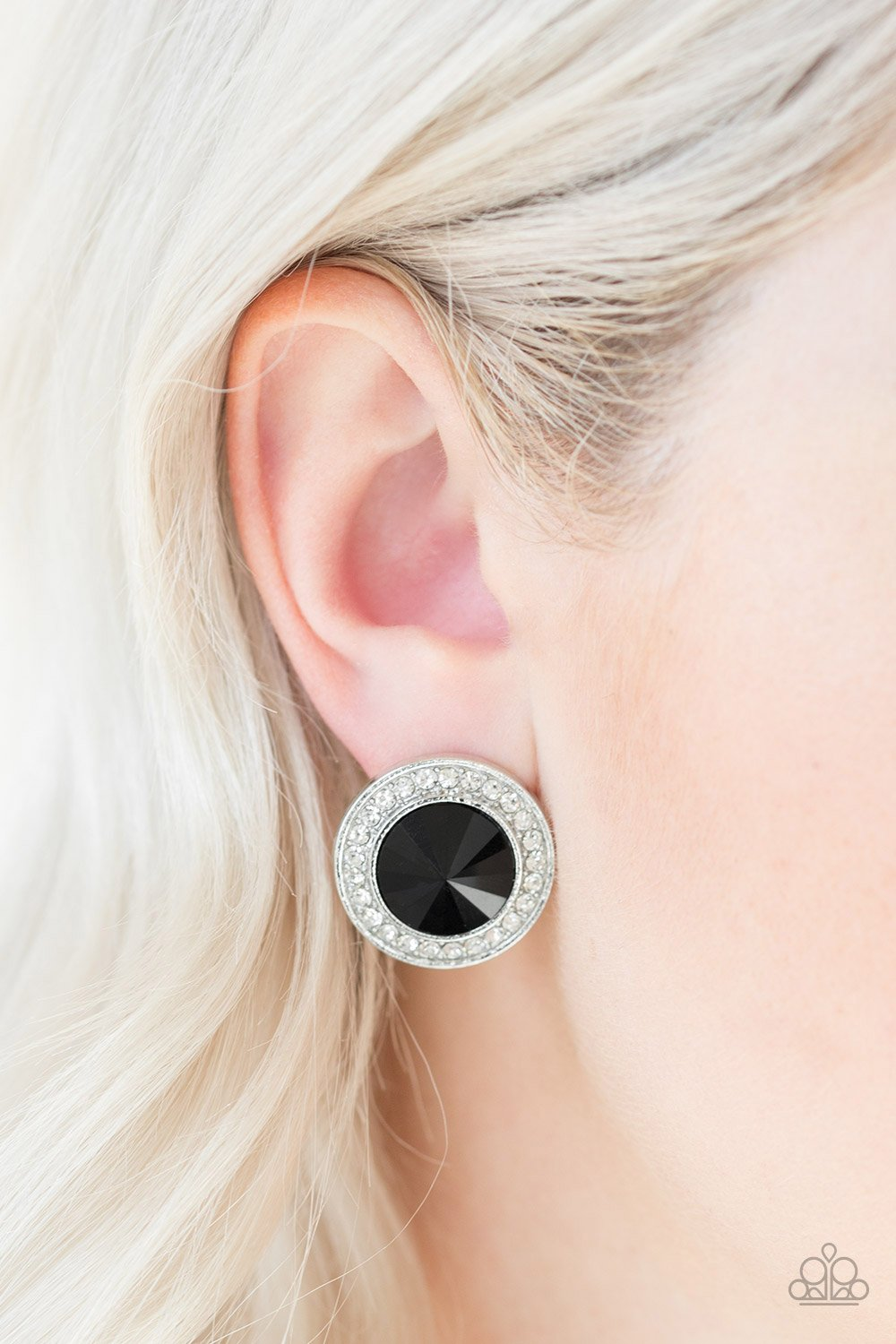 What Should I BLING - black - Paparazzi earrings