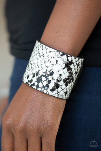 Whats HISS Is Mine-white-Paparazzi bracelet