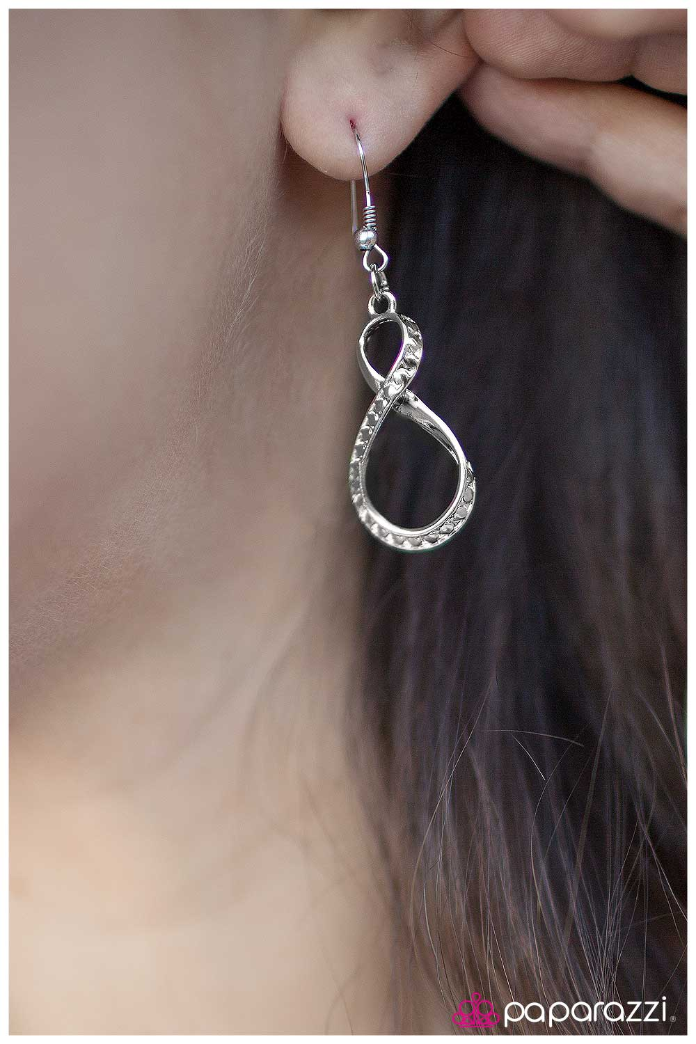 Without Further Ado - Silver - Paparazzi earrings