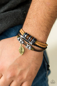 Wonderfully Willow - brass - Paparazzi bracelet