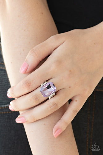 You Can COUNTESS On Me-purple-Paparazzi ring