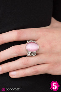 Your Castle Awaits - Pink - Paparazzi ring