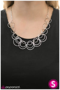 Around and Around We Go - Paparazzi necklace