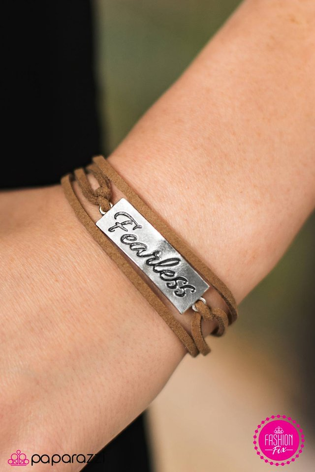 Fearless - brown - Paparazzi bracelet