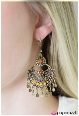 Genie in a Bottle - Paparazzi earrings