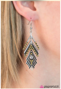 Huntress - Paparazzi earrings