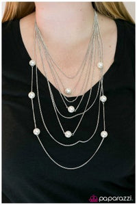 Pearl Symphony - Paparazzi necklace
