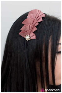 Pursuit of Happiness - Pink - Paparazzi Jewelry headband
