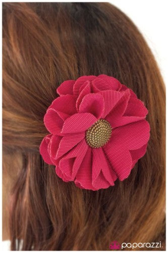 Playing for Keeps - pink - Paparazzi Accessories hair clip